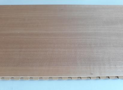 Radacoustic Micropierced Sound Absorbing Boards